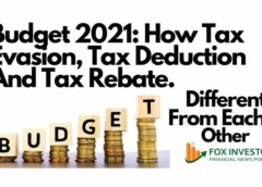 Budget 2021: How Tax Evasion, Tax Deduction And Tax Rebate Are Different From Each Other
